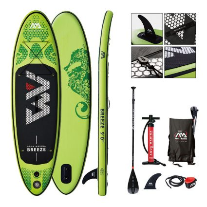 Pack SUP GONFLABLE AQUA MARINA BREEZE TAILLE 9.0 EDITION 2020