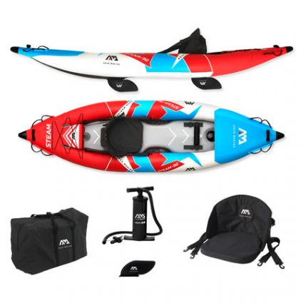 KAYAK GONFLABLE AQUA MARINA STEAM 1 PERSONNE 2020